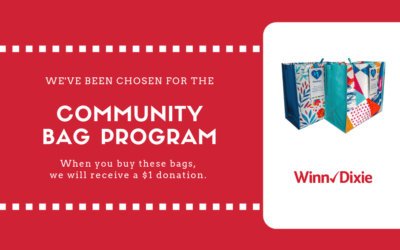 Winn Dixie Community Bag Program Starts Now!